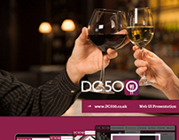 UI Design for DC 500: Earn Discounts on Wine across UK