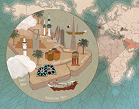 Maps for Alef Magazine