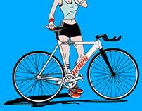 Bicycle girl & boy