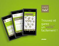 Easy Velo' pour Windows Phone 7