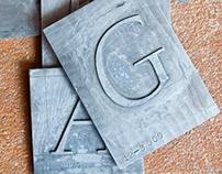 Lanston Californian Typeface Digitization