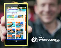 Promovacances pour WIndows Phone 8