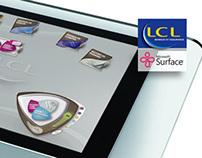 LCL pour table Surface