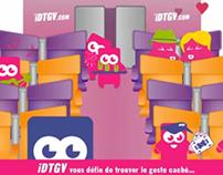 Publicité interactive iDTV pour Kinect