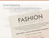 Email Marketing - Fashion Symposium - Cliente:TexBrasil