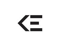 KE logo design