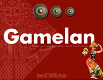 Conceptual App Design: Balinese Music Museum App