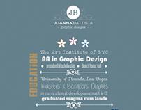 My Designed Resume