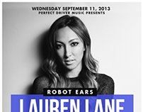 Lauren Lane for Robot Ears