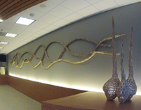 The Hive: wall sculpture by Gerry Stecca