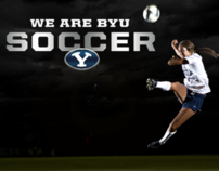 BYU Women's Soccer Posters
