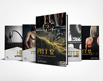 Fitt_Ed Fitness Branding and Book Design
