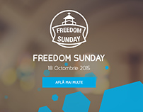 Freedom Sunday - Website