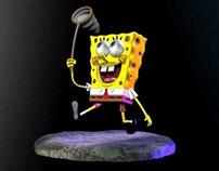 Sponge Bob & Plankton Zbrush Sculpts