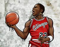 His Airness Painting