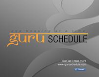 Guru Schedule