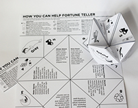 NOAA - Right Whale - Kid's Activity Kit Fortune Teller