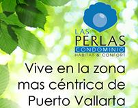 Flyer frente y vta. Inmobiliaria Puerto Vallarta (2010)