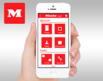 Miele All In One - App UI