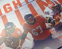 2013 Illinois Football Program Covers