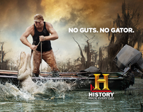 THE HISTORY CHANNEL - SWAMP PEOPLE