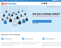 New Challenge Website