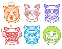 Cat-Tastic | Pattern