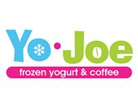 Yo Joe {Frozen Yogurt & Coffee Shop} Logo