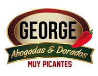 Logotipo tortas ahogadas George