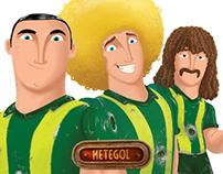 Metegol / Foosball Players Character Design