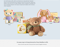 Interactive Storybuddy Product Page