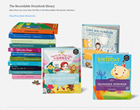 Recordable Storybooks Product Page