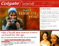 Colgate SmileTalk E-Newsletter