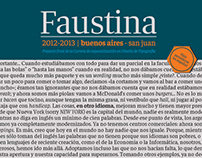 Faustina a typeface for newspapers