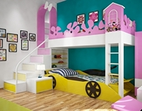My project: a children bedroom
