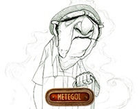 Metegol / People Character Design