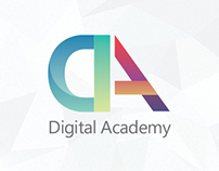 Digital Academy - identity for the series of training