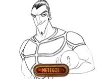 Metegol / Grosso and villains Character Design