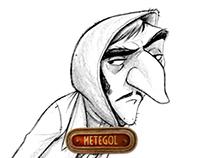 Metegol / Laucha Character Design