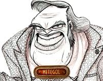 Metegol / Manager Character Design