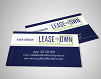 Lease to Own Metro Detroit: Logo & Stationery