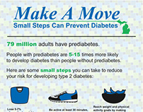 Make a Move Diabetes inforgraphic