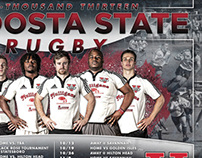 Valdosta State Rugby Poster