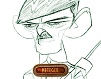 Metegol / soldiers Character Design