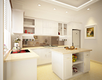 The neoclassical kitchen