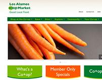 Los Alamos Co+op Website