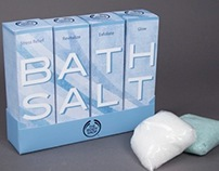 Bath Salts - Packaging
