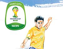 Visit Recife (Copa 2014) - Empetur