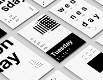 One Week in Type - Posters