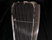 Custom Hand-fabricated 1937 Dodge Grill